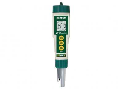 防水型 ExStik ® II PH/電導度計