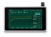 彩色觸控螢幕 / 溫溼度記錄器